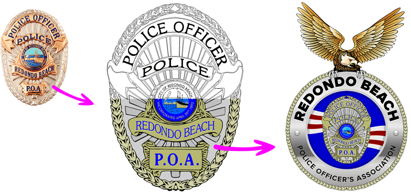 logo design police, law enforcement, murrieta, riverside, temecula