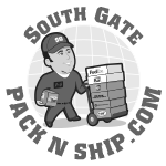 postal website, south gate pack n ship